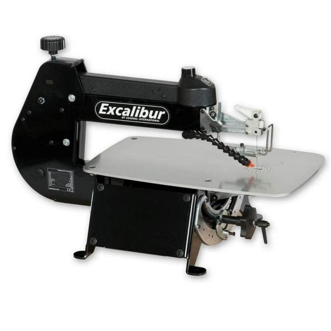 The Best Scroll Saw Option: Excalibur 16-Inch Tilting Scroll Saw