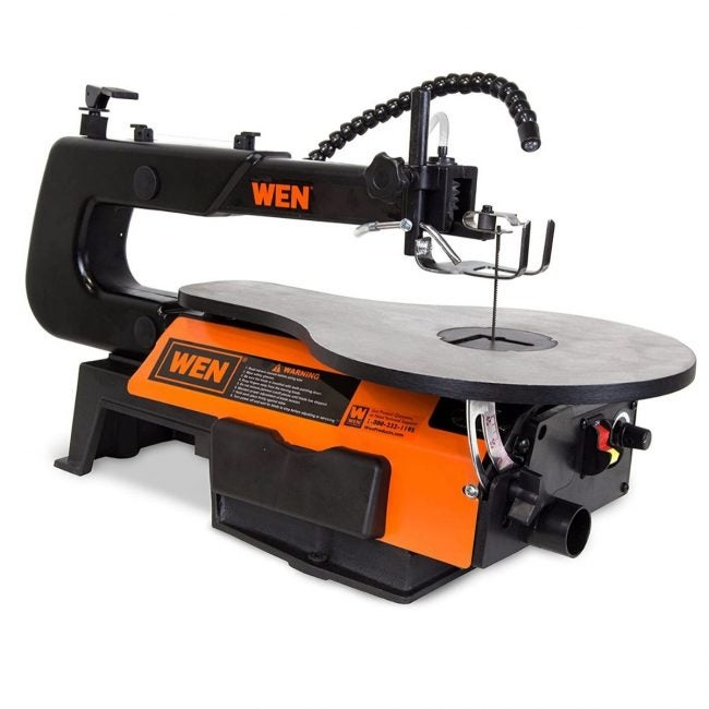 The Best Scroll Saw Option: WEN 16-Inch Variable Speed Scroll Saw
