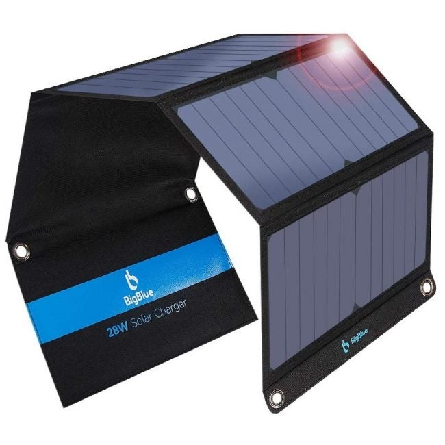 The Best Solar Charger: BigBlue