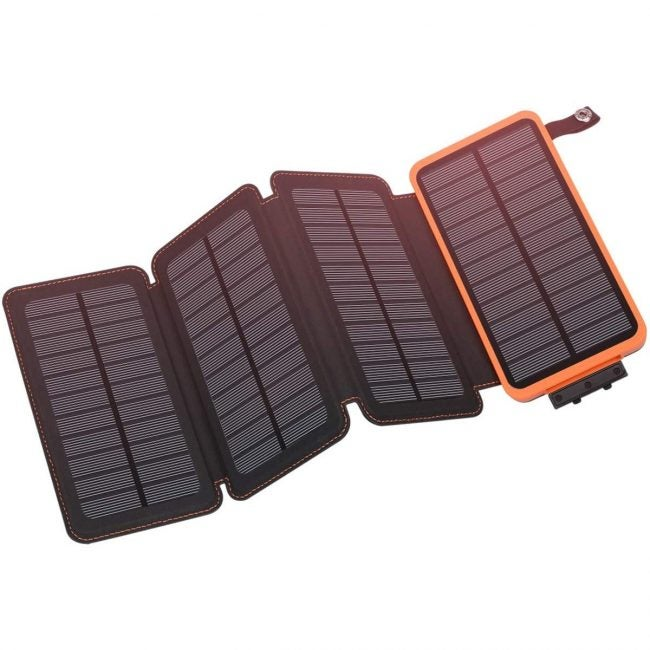 The Best Solar Charger: Hiluckey
