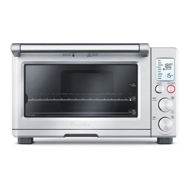 The Best Toaster Oven Option: Breville 800XL Smart Oven Convection Toaster Oven