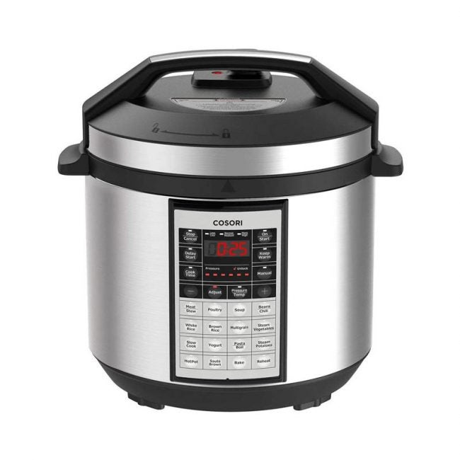 The Best Pressure Cooker Option: Cosori 8-in-1 Pressure Cooker