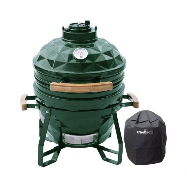 The Best Egg Grill Smoker Option: Chefood Ceramic Kamado Grill