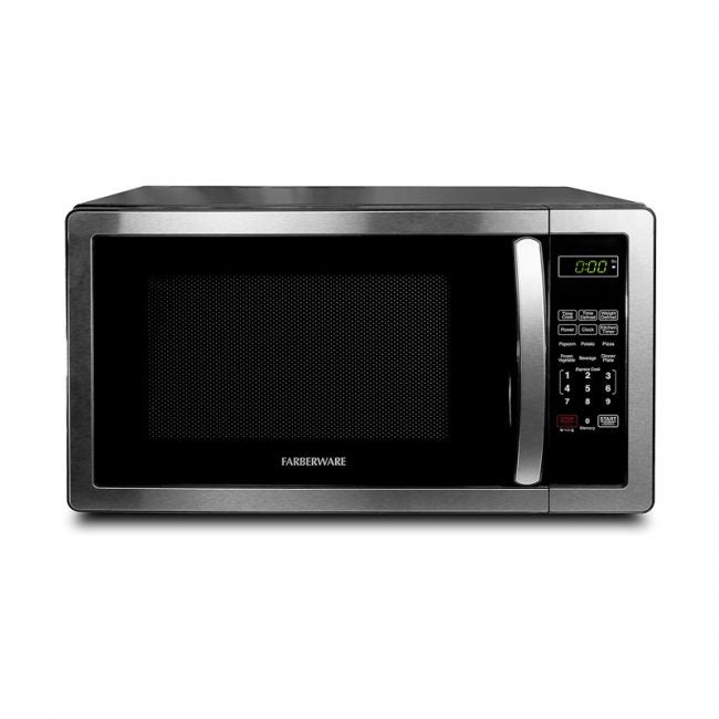 The Best Microwave Oven Option: Farberware Stainless Steel Countertop Microwave Oven