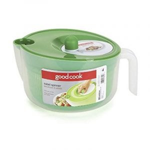 The Best Salad Spinner Option: Good Cook Salad Spinner