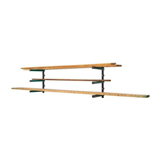 The Best Lumber Storage Rack Option: Grizzly Lumber Storage Rack