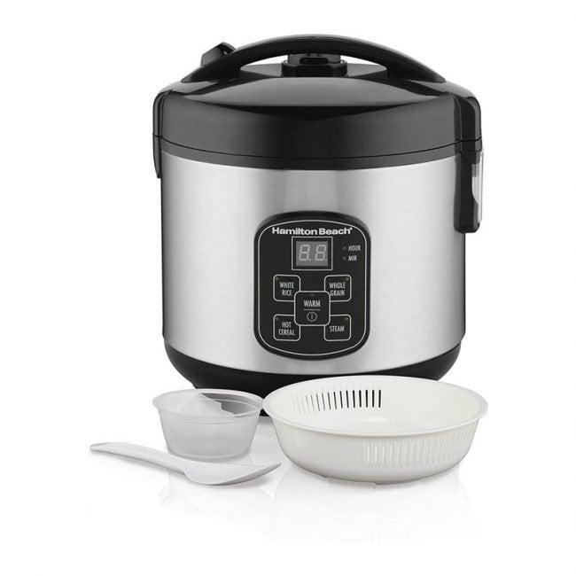 The Best Rice Cooker Option: Hamilton Beach Digital Rice Cooker