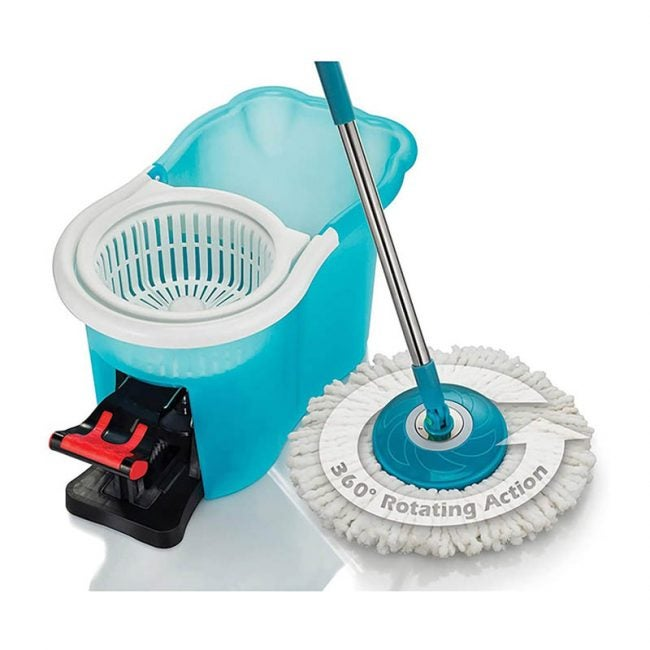 The Best Spin Mop Option: Hurricane Home Cleaning Spin Mop