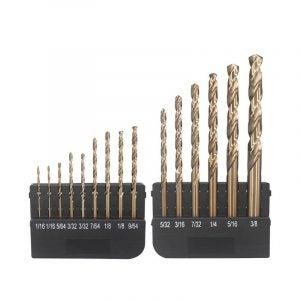 The Best Drill Bits for Metal Option: Hymnorq Twist Metal Drill Bits Set