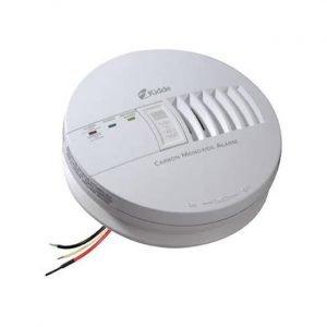 最佳的一氧化碳探测器选项:Kidde Hardwire Co Detector警报带电池备份