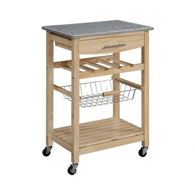 The Best Kitchen Cart Option: Linon Kitchen Island