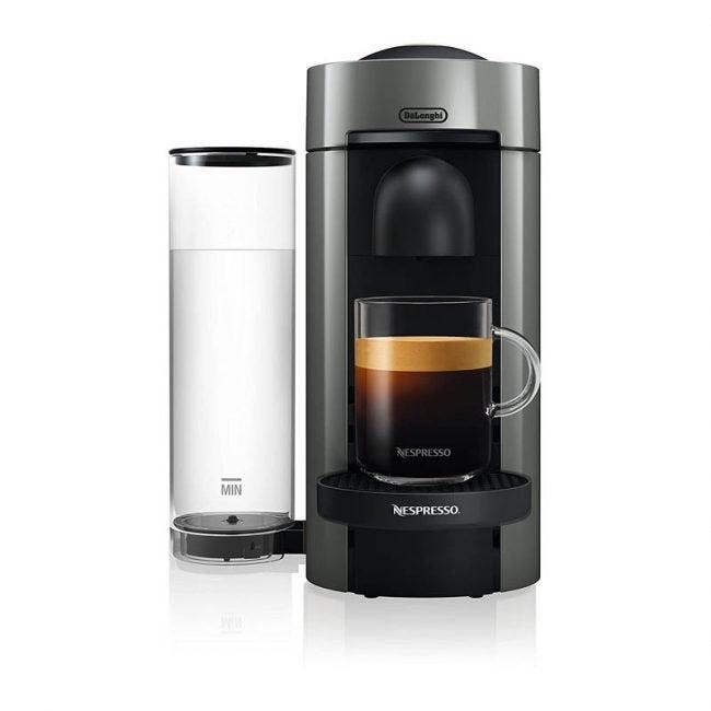 The Best Espresso Machine Option: Nespresso by DeLonghi Vertuoplus Espresso Maker
