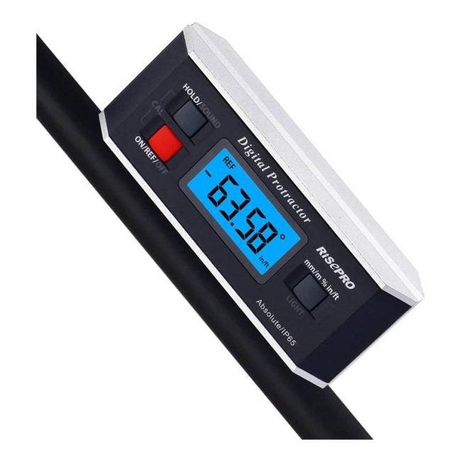 The Best Angle Finder Option: RISEPRO Inclinometer Digital Angle Finder