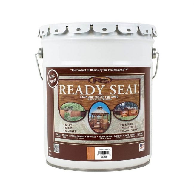 The Best Fence Stain Option: Ready Seal 512 Stain and Sealer