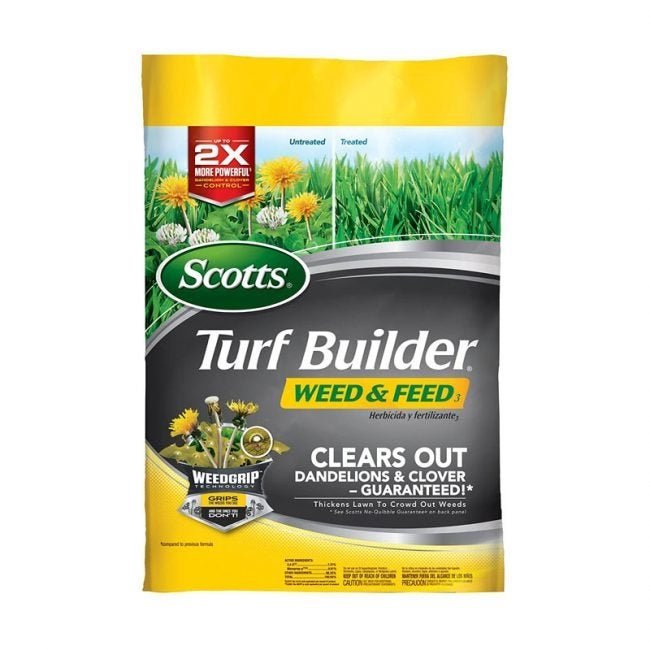 The Best Weed and Feed Option: Scotts Turf Builder Weed and Feed