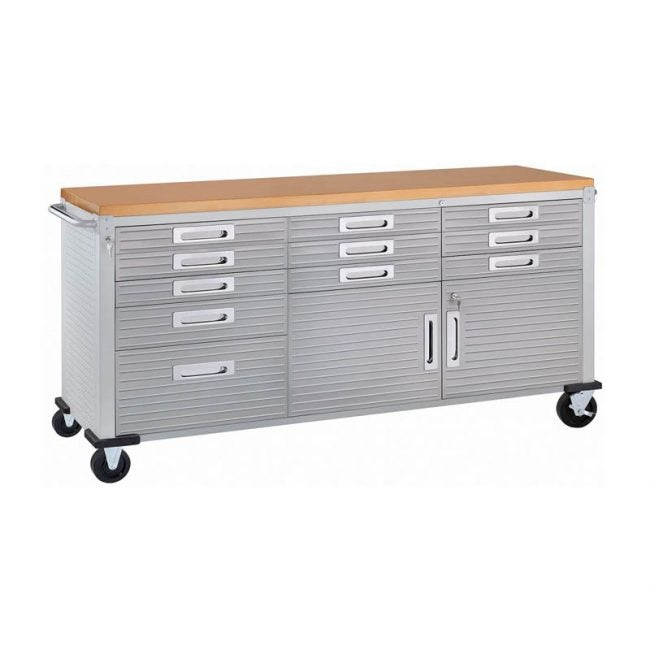 The Best Workbench Option: Seville Classics UltraHD Rolling Workbench