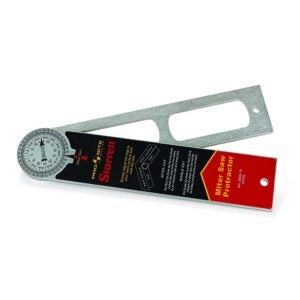 The Best Angle Finder Option: Starrett Miter Protractor