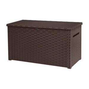 The Best Deck Box Option: KETER Java XXL 230 Gallon Storage Deck Box