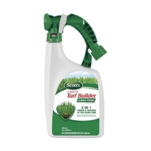 The Best Lawn Fertilizer Option: Scotts Liquid Turf Builder Lawn Food