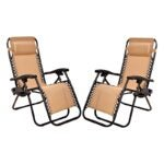 The Best Lounge Chair Option: BalanceFrom Zero Gravity Lounge Chair