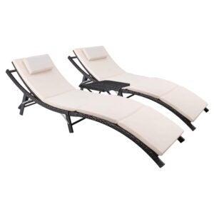 The Best Lounge Chair Option: Devoko Patio Chaise Lounge SetThe Best Lounge Chair Option: Devoko Patio Chaise Lounge Set