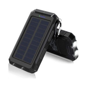 The Best Solar Charger Option: F. DORLA 20000mAh Solar Power BankThe Best Solar Charger Option: F. DORLA 20000mAh Solar Power Bank