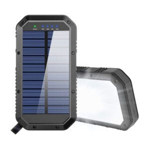 The Best Solar Charger Option: GoerTek 25000mAh Solar Power Bank Portable Charger