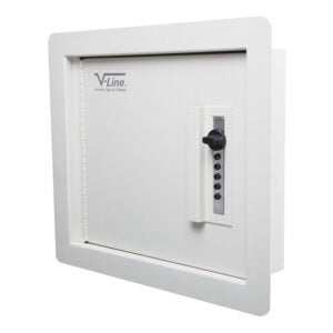 The Best Wall Safe Option: V-Line Quick Vault Locking Storage for Valuables