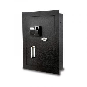 The Best Wall Safe Option: Viking Biometric Fingerprint Wall Safe