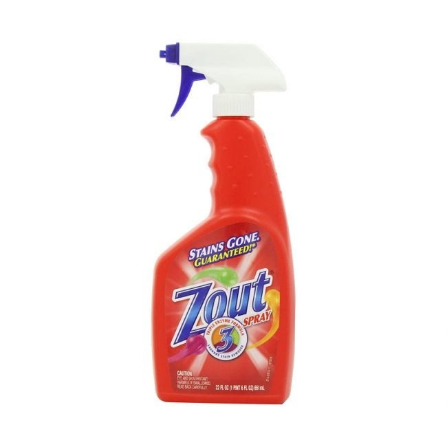 The Best Stain Remover Option: Zout Laundry Stain Remover Spray