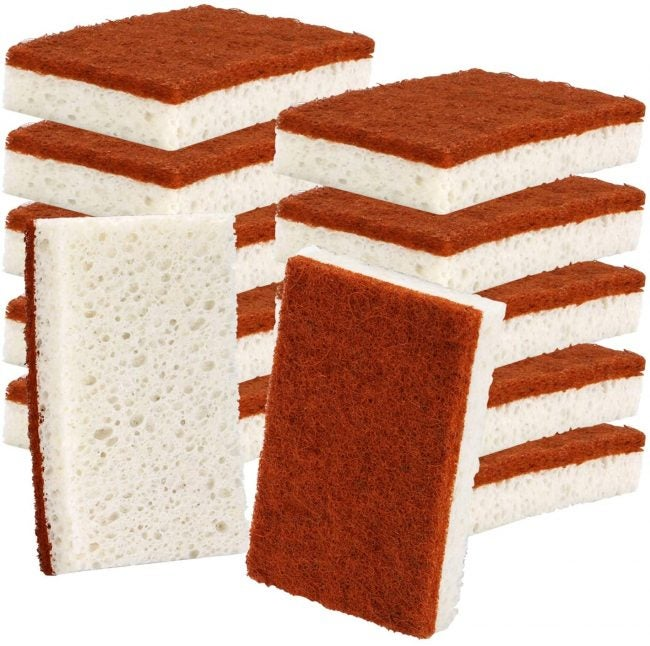 The Best Dish Sponge Options: Panyee Natural Plant Based Scrub Sponge