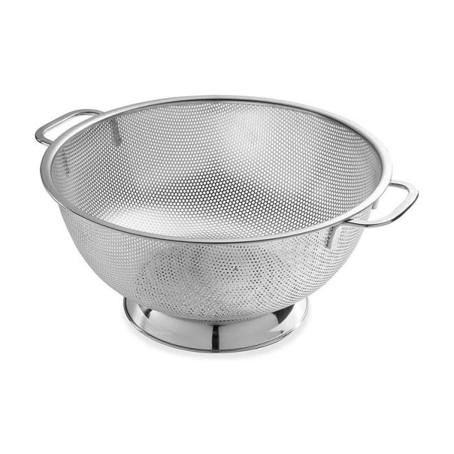 The Best Colander Option: Bellemain Micro-Perforated Colander