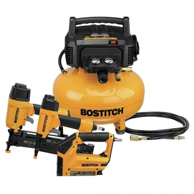 The Best Home Air Compressor Option: BOSTITCH Air Compressor Combo Kit