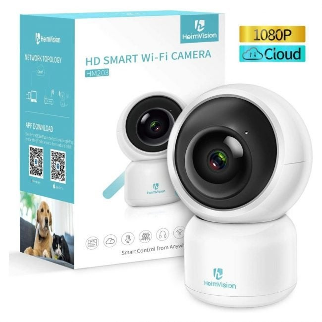 The Best Indoor Home Security Camera Option: HeimVision Indoor Security Camera