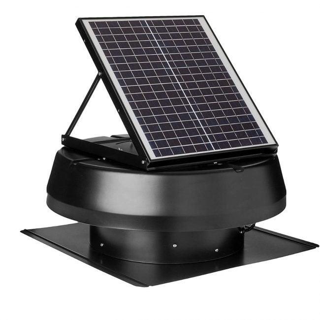 The Best Attic Fans Option: iLIVING Solar Roof Attic Exhaust Fan