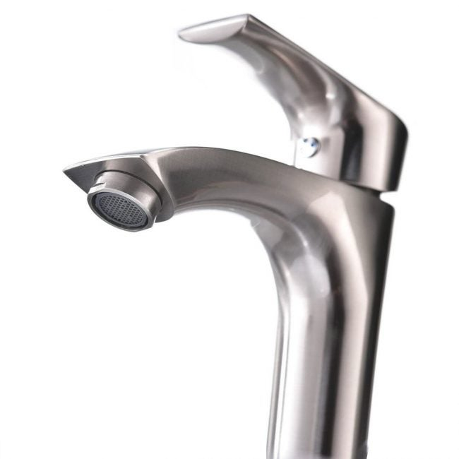 The Best Bathroom Faucets Option: KINGO HOME Contemporary Single Handle Tall Faucet