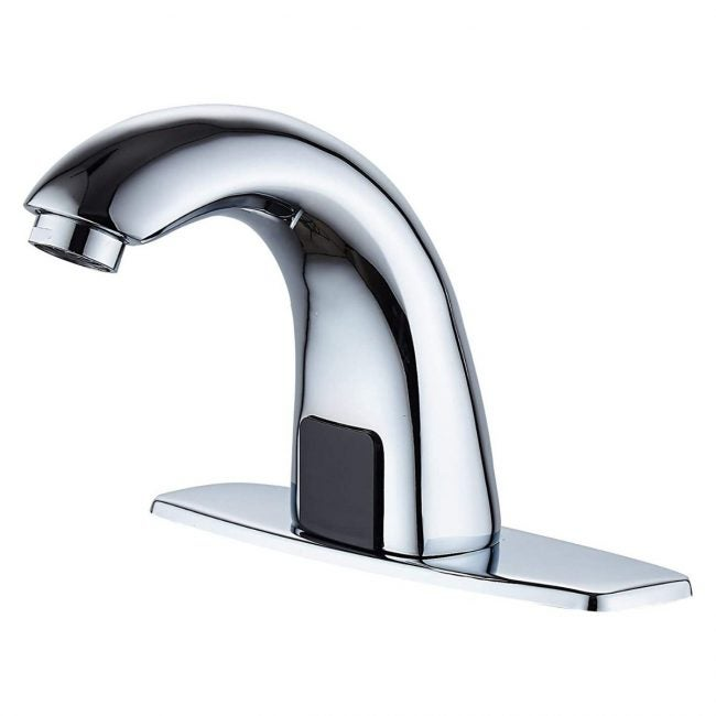 The Best Bathroom Faucets Option: Luxice Automatic Touchless Bathroom Sink Faucet