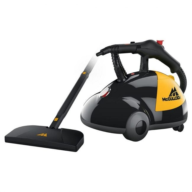 The Best Carpet Cleaners Option: McCulloch Heavy-Duty Steam Cleaner