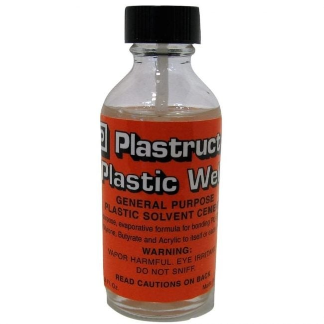 The Best Glue for Plastic Option: Plastruct Plastic Weld