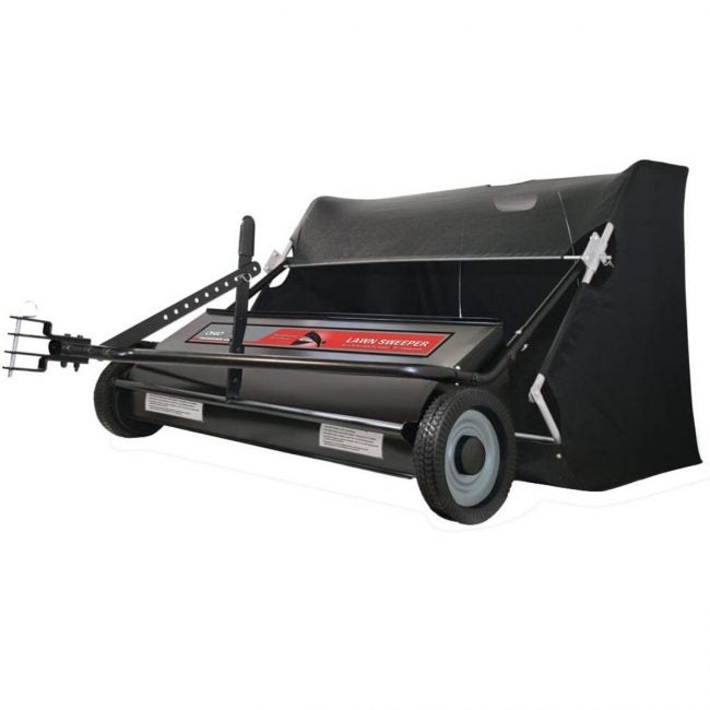 The Best Lawn Sweeper Option: Ohio Steel 42-Inch Sweeper with Spiral Brush