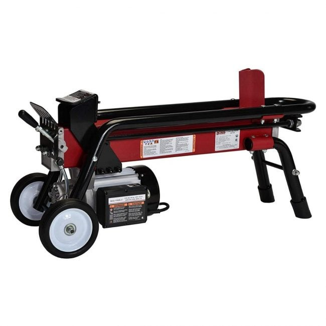 The Best Log Splitter Option: Boss Industrial ES7T20 Electric Log Splitter