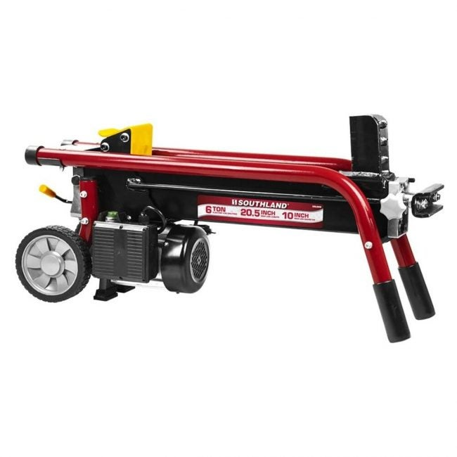 The Best Log Splitter Option: Southland Outdoor SELS60 6 Ton Electric Splitter