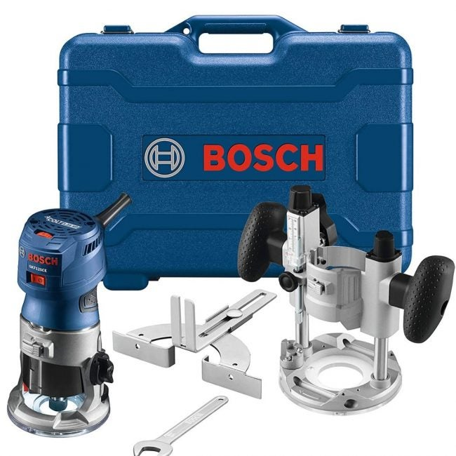 The Best Plunge Router Option: Bosch Colt Variable-Speed Palm Router