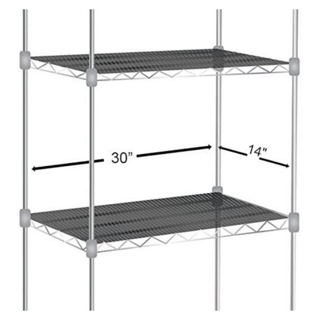 The Best Best Shelf Liner Option: Sterling Wire Value Pack of 5 Shelf Liners