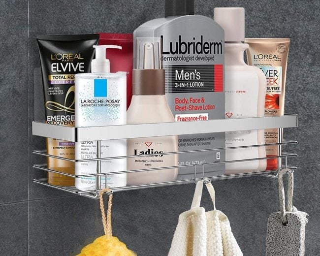 The Best Shower Caddy Options for Bathroom Clutter