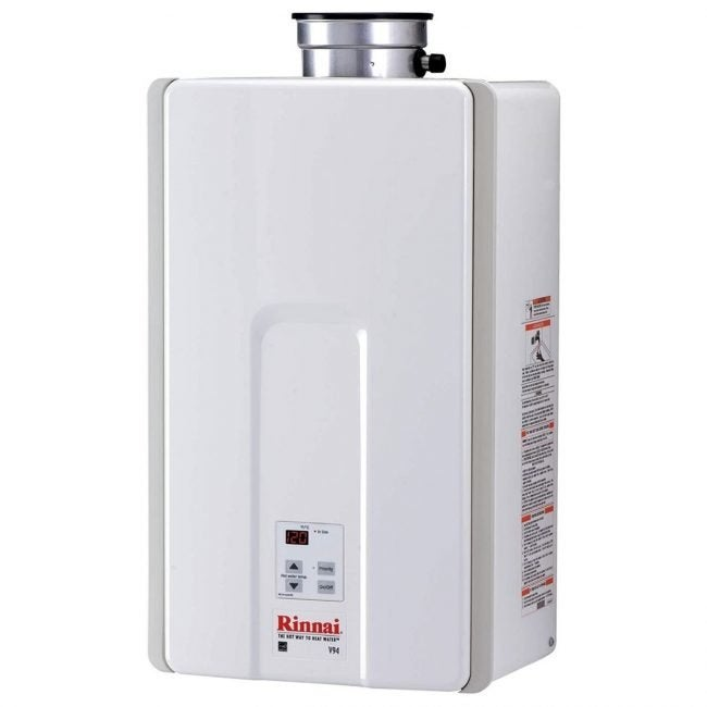 The Best Tankless Water Heater Option: Rinnai V94iN High-Efficiency Tankless Water Heater