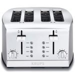 The Best Toaster Option: Krups 4-Slice Toaster
