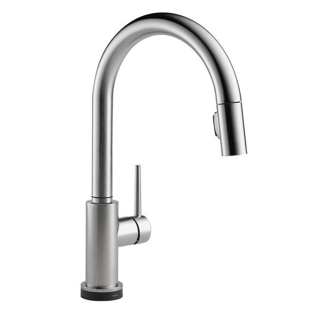 Best Touchless Kitchen Faucet Options: Delta-Faucet-Trinsic
