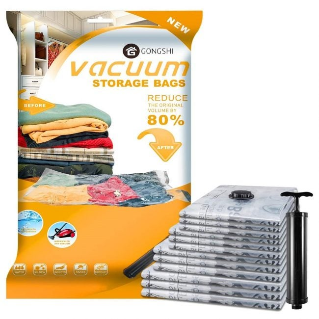 The Best Vacuum Storage Bag: Gongshi