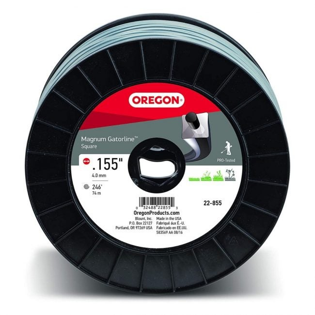 The Best Weed Eater String Option: Oregon 22-855 Heavy-Duty Magnum Gatorline Square String Line